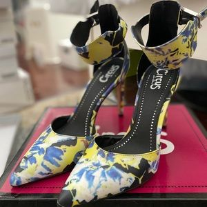 Circus Sam Edelman abstract colorful heels